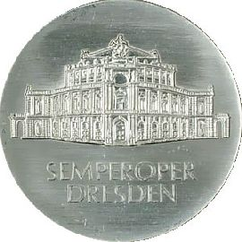 DDR 10 Mark Semperoper 1985 st
