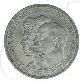 3 Mark Silberhochzeit 1914