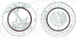 Deutschland 5 Euro Gedenkmünzen 2018 Subtropische Zone