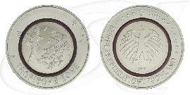 Deutschland 5 Euro Gedenkmünzen 2017 Tropische Zone
