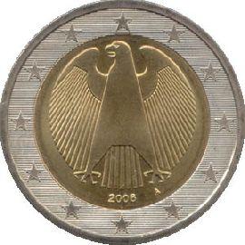 2 Euro Münze Deutschland 2002 F