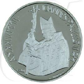 10 Euro Münze Vatikan 2002 Neujahrsbotschaft