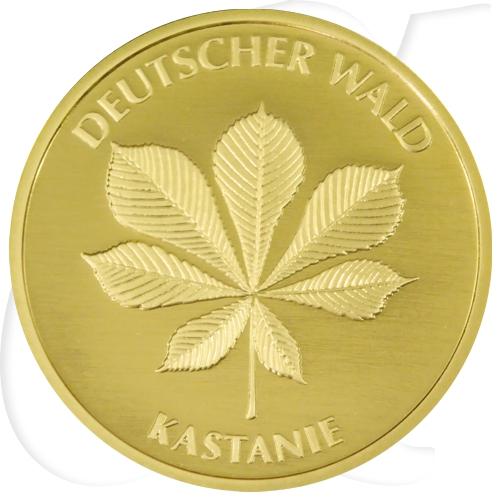 20 euro gold kastanie m nze. Black Bedroom Furniture Sets. Home Design Ideas