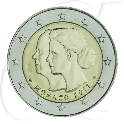 2 Euro Monaco 2011 Hochzeit