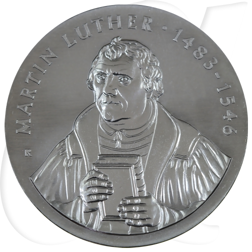 DDR 20 Mark 1983 A vz-st Martin Luther