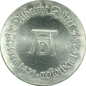 DDR 10 Mark Dürer 1971 vz