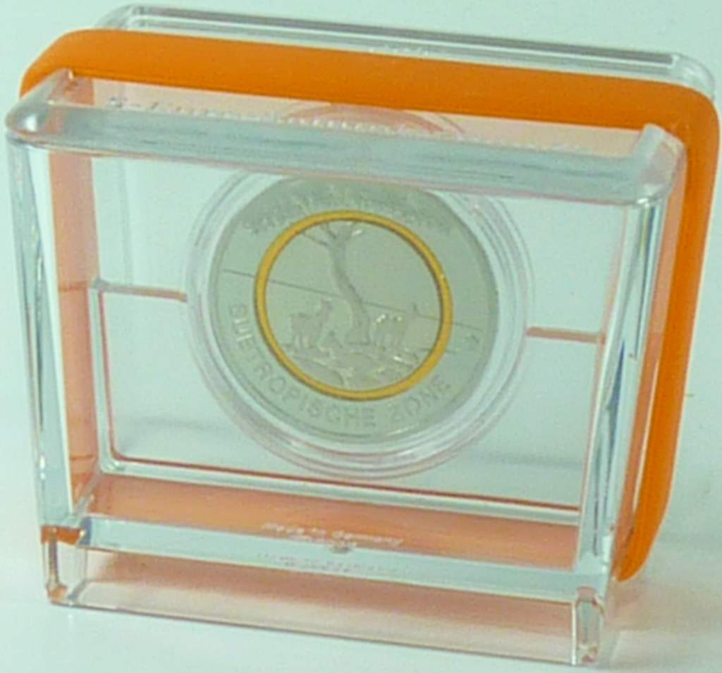 5 Euro Münze 2018 Orange