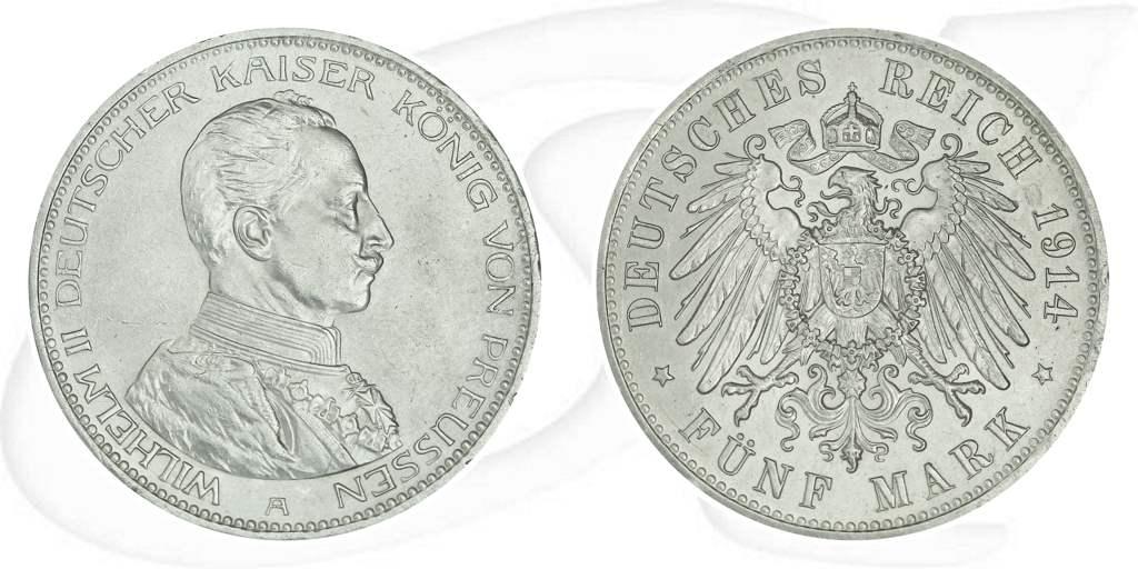 5 Mark Deutsches Reich 1914