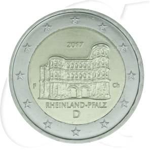 2 Euro Münze 2017 Deutschland Porta Nigra