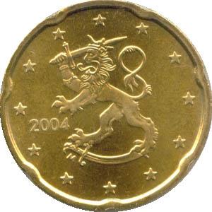 20 Cent Münze Finnland 1999