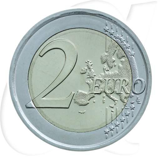 2 Euro Münze Italien 2018 Verfassung