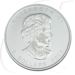 Silbermünzen Kanada Wolf