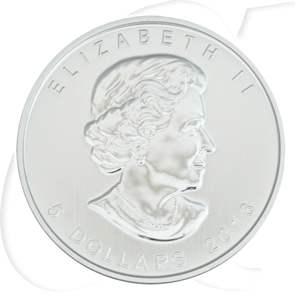 Silbermünzen Kanada Bison