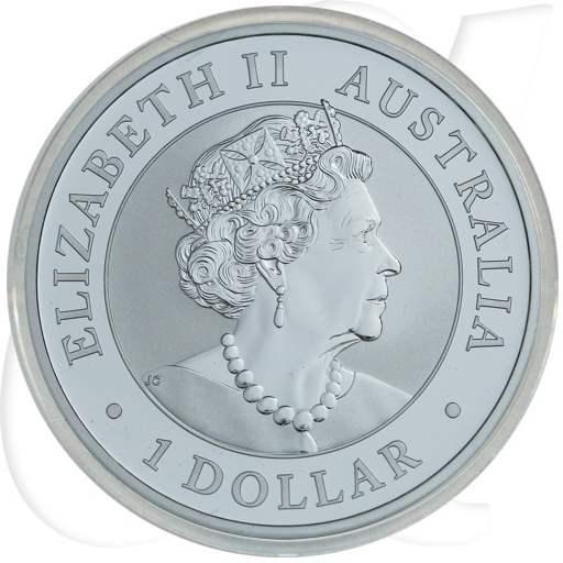 Kookaburra 2019 Silber Münze