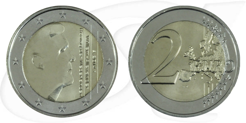 2 euro münze niederlande