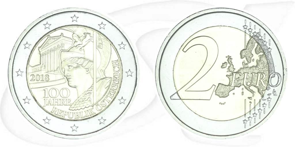 2 Euro Münze österreich 2018 Republik Malta